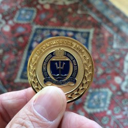 TFS Awarded A Challenge Coin